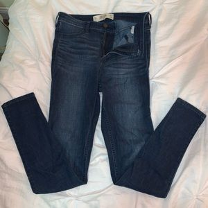 Hollister Darkwash jeggings